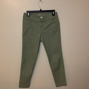 Old navy pixie pants sage green